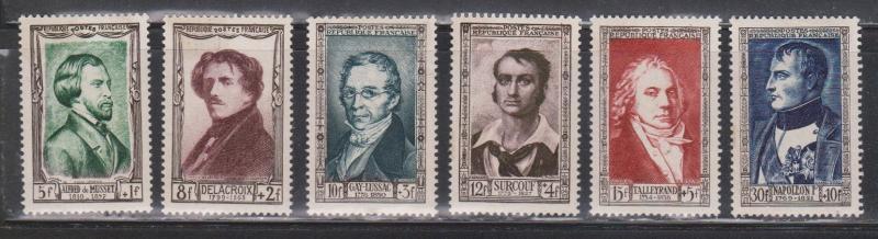 FRANCE Scott # B258-63 MNH - Semi-postals