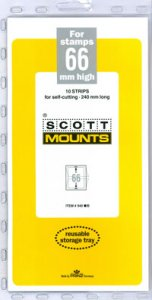 Scott Mount 66 x 240 mm  (Scott 940 Black)