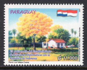 Paraguay 2835 Tree MNH VF
