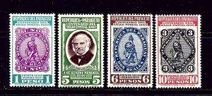 Paraguay 378-81 MNH 1940 Stamp Centenary