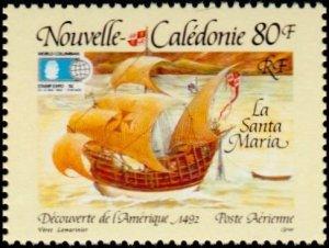 New Caledonia 1992 Santa Maria mint**