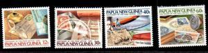 Papua New Guinea 627 - 630 cat $8.00 mnh