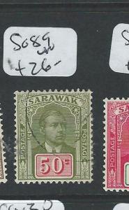 SARAWAK (P1401B) BROOKE 50C  SG 89    VFU