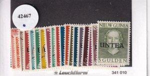 Netherlands New Guinea: UNTEA, Sc 1a-19a, MNH (42467)