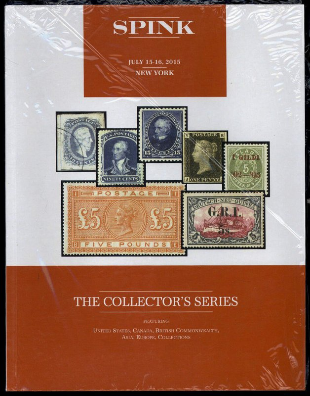 Spink auction catalog: The Collector's Series July 15-16, 2015