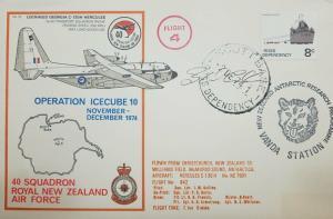 L) 1974 ROSS DEPENDENCY, SUMMER SUPPORT, BOAT, 8C, FLIGHT 4, VANDA STATION, AIRP