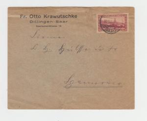SAAR 1927, 50c ON COVER LOCAL USAGE (SEE BELOW)