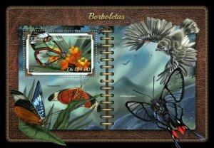 HERRICKSTAMP NEW ISSUES ST. THOMAS Butterflies S/S