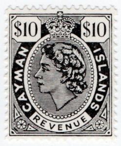 (I.B) Cayman Islands Revenue : Duty Stamp $10