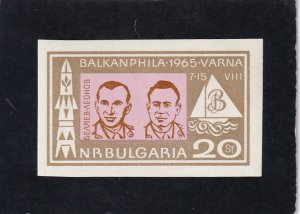 Bulgaria,   #   1428    MNH   imperf/ special color