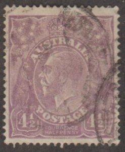 Australia Scott #35 Stamp - Used Single
