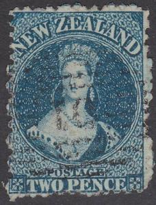 NEW ZEALAND 1864 Chalon 2d perf 12½ SG114 used ..............................767