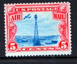 US  C11 MINT HINGED  BEACON ON ROCKY MOUNTAIN ISSUE 1928