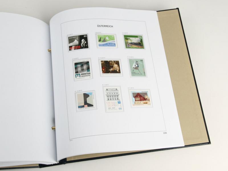 DAVO Luxe Hingless Album Austria V 2007-2016