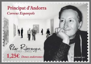 H01 Andorra (Spain) 2017 Andorran Women Pilar Riberaygua MNH Postfrisch