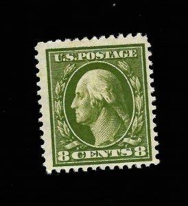 US 1911 Sc# 380  8 c Washington Mint NH - Vivid Color - Centered - GEM