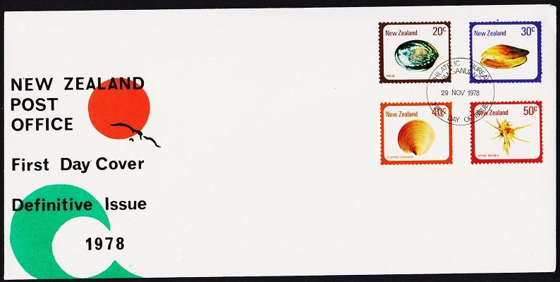 New Zealand.1975 FDC S.G.1099/1102 Fine Used