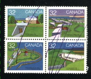 Canada 986-87,991-92   Block  used  1983 PD