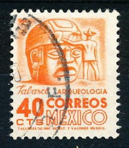 Mexico #880 Single Used