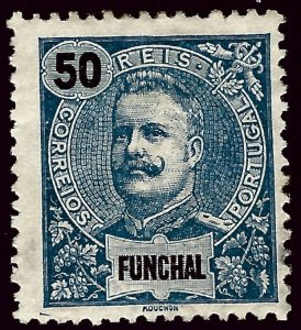 Funchal Portugal Sc#24 Mint F-VF hr...Popular Country!