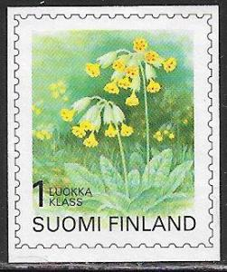 Finland 845 Used - Provincial Flowers - Cowslip