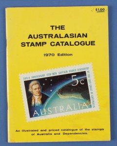 AUSTRALIA : 1970 Australian Stamp Catalogue inc States & Territories