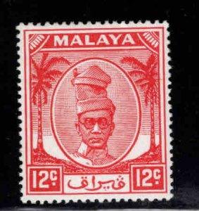 MALAYA Perak Scott 122 MH*  stamp