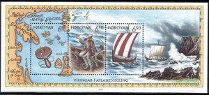 (CMA) Faroe Islands Scott #413 MNH Souvenir Sheet