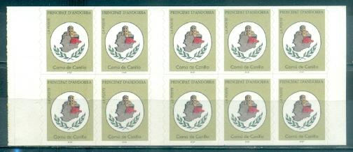 Andorra - French #471a  MNH  Scott $12.00   Booklet