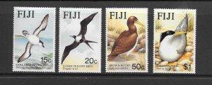 BIRDS - FIJI #540-3  MNH