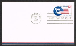 United States FDC Scott UXC11