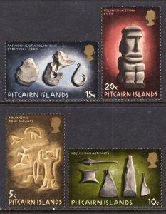 Pitcairn Islands 119-122 MNH VF