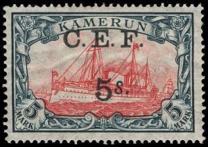 Cameroons Scott 53-65 Gibbons 1-13e Mint Set of Stamps
