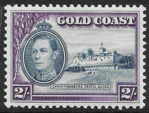 GOLD COAST SG130 1938 2/= BLUE & VIOLET MTD MINT