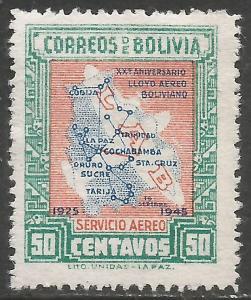 BOLIVIA C107 MNG MAP I339-2