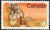 Canada 643 1974 100th Mennonite Settlers single MNH
