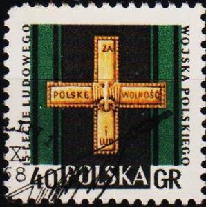 Poland. 1958 40g S.G.1069 Fine Used
