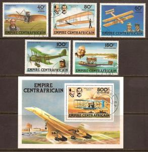 Central African Republic  #  C 194 - 99  used .         C