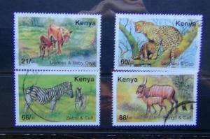Kenya 2004 Tourism set Used