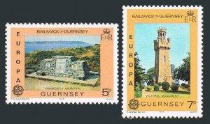 Guernsey 161-162 sheets,MNH.Michel 161-162. EUROPE CEPT-1978,Memorial to seamen,