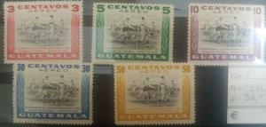 O) 1948 GUATEMALA, SOCCER GAME-SPORT- CENTRAL AMERICAN AND CARIBBEAN SOCCER CHAM