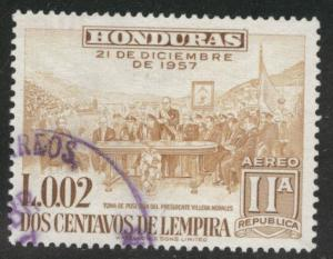Honduras  Scott C302 Used airmail stamp