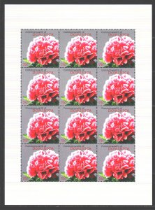 Dominica. 2009. Small sheet 3925. Flora, flowers. MNH.