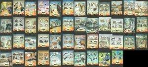 TG601-623 2013 TOGO AFRICAN FAUNA BIRDS WILD ANIMALS MARINE LIFE 23KB+23BL MNH