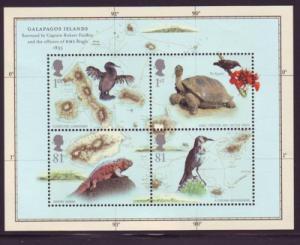 Great Britain Sc 2626 2009 Galapagos Islands stamp sheet mint NH