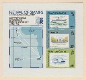 Tristan Da Cunha Scott #208a Stamps - Mint NH Souvenir Sheet