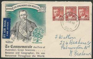 AUSTRALIA 1948 Von Mueller commem FDC......................................41027