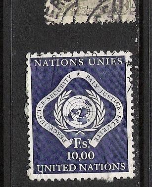 UNITED NATIONS 14 VFU ARMS 839D