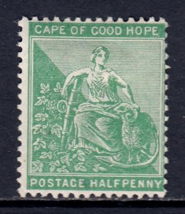 Cape of Good Hope - Scott #42 - MH - Small thin, pencil/rev. - SCV $1.40