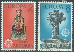 ANDORRA-SPANISH SCOTT 79-80